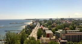 Priveliste de la Barul Panorama - Hotel Delfinul
